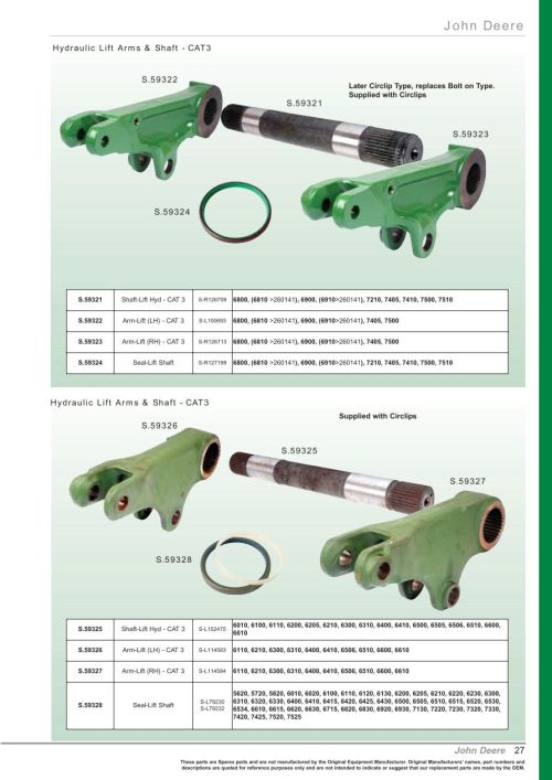 small resolution of parts lists oe new products front cover page 29 section front cover starter motors