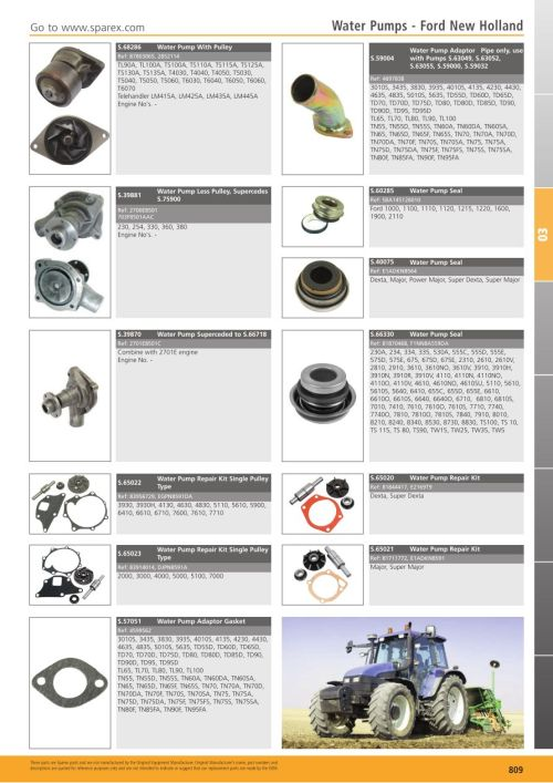 small resolution of s 700267 tractor parts volume 1 tp03 809