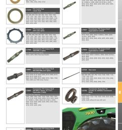 parts lists tractor parts volume 1 transmission page 1029  [ 893 x 1263 Pixel ]