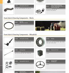 parts lists tractor parts volume 2 front axle page 240  [ 893 x 1263 Pixel ]