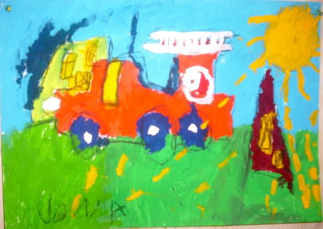 Malschule Friedenau  Das Geheimnis der Kinderbilder