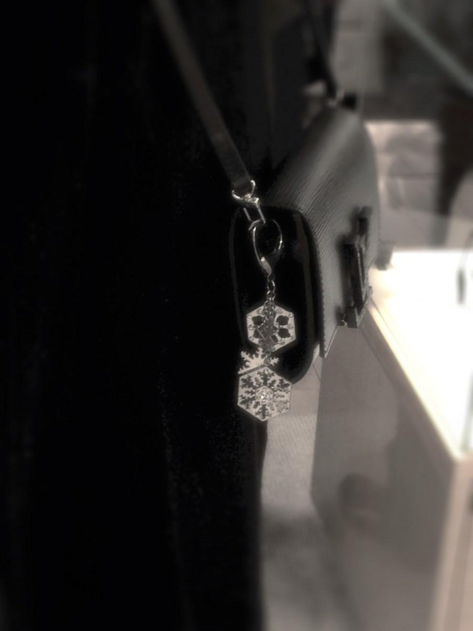 Louis Vuitton snowflake key chain