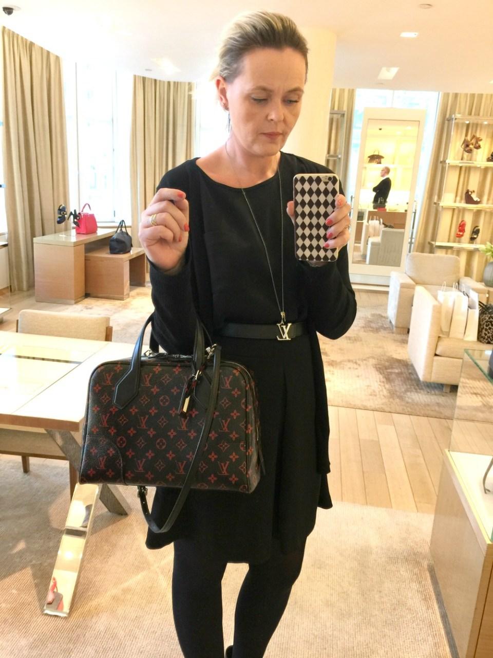 Louis Vuitton infrarouge dora