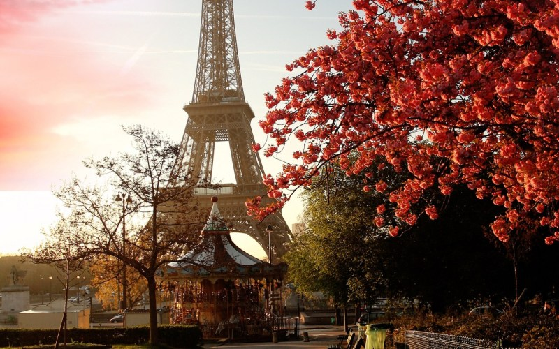 efterår i Paris
