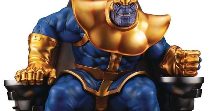 Thanos is back in this Fine Art Statue