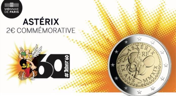 Asterix Gets a 2-Euro Coin