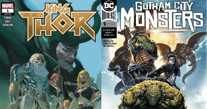 Five New Comics For September 13th