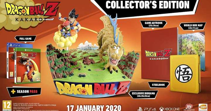The Dragon Ball Z: Kakarot Collector's Edition Is On Preorder for the PS4 and Xbox One