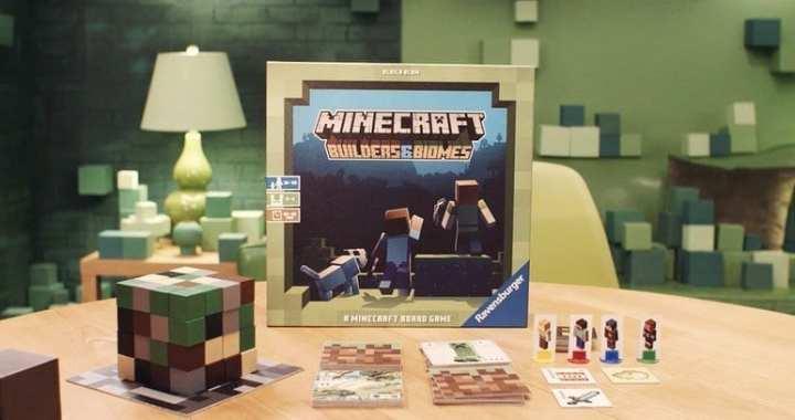 Minecraft Board Game Announced