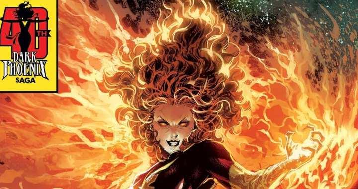 Dark Phoenix Rises in 40th Anniversary Variants
