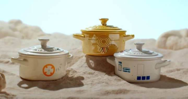 Le Creuset Announces STAR WARS Line of Cookware