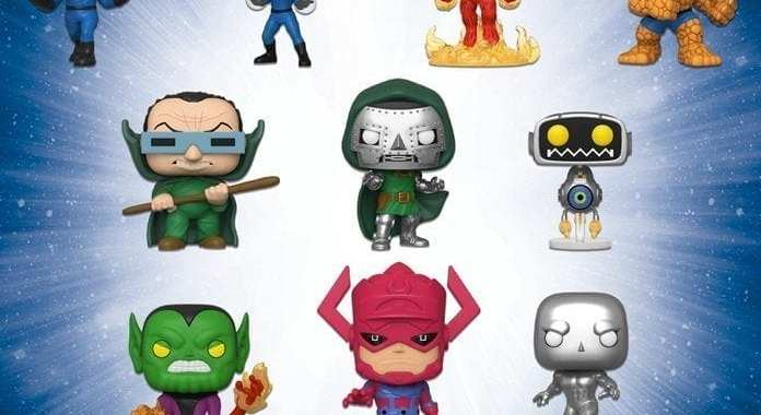 The Fantastic Four and Funko Team Up for New Figures