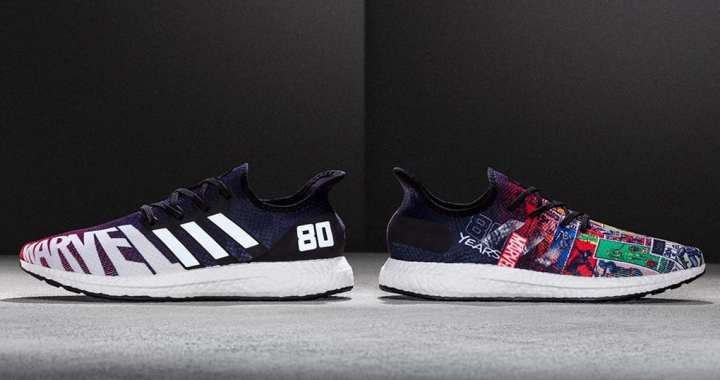 Marvel Celebrates 80th Anniversary With Adidas Designed By Joe Quesada For NYCC Release