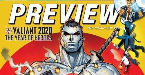 Valiant 2020 Begins Now… in PREVIEWS!
