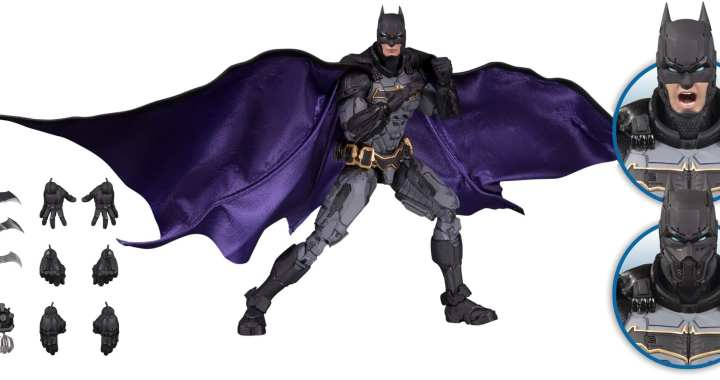 DC Collectibles' Batman Prime Action Figure Glides into MaltaComics