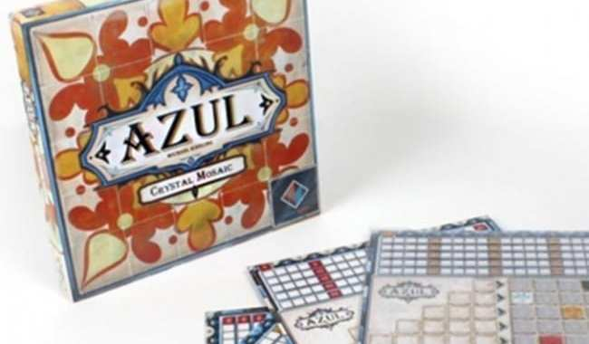 NEXT MOVE GAMES UNVEILS 'AZUL: CRYSTAL MOSAIC'