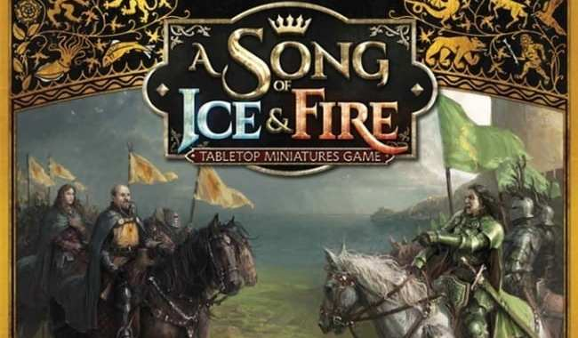 CMON UNVEILS NEW 'A SONG OF ICE & FIRE: TABLETOP MINIATURES GAME' STARTER SET