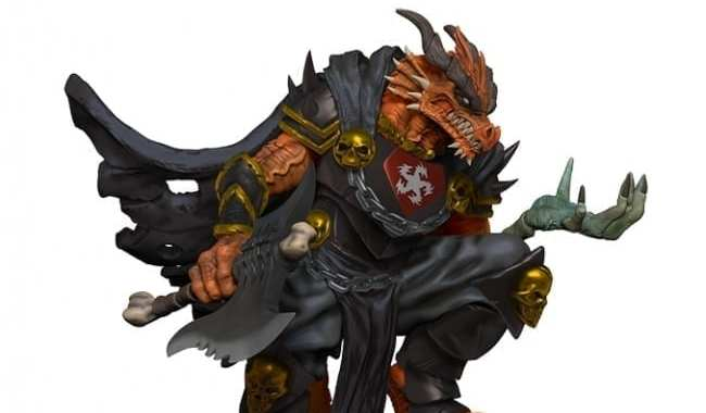 JOE MANGANIELLO'S ARKHAN THE CRUEL ADDED TO 'D&D ICONS OF THE REALMS'