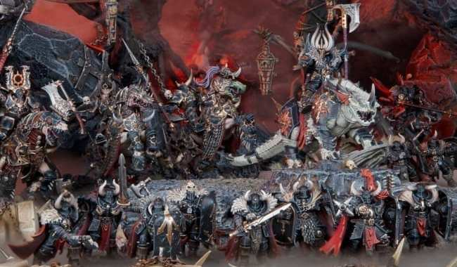 GAMES WORKSHOP REVEALS CHAOS ARMY FOR 'WARHAMMER: AGE OF SIGMAR'