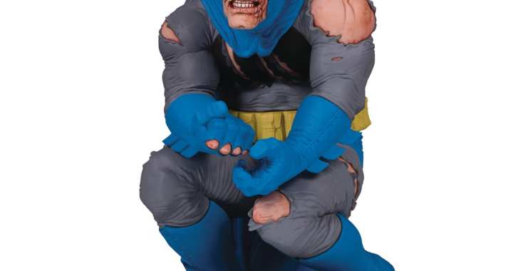Frank Miller's Batman Comes to Life as New Designer Series Statue from DC Collectibles