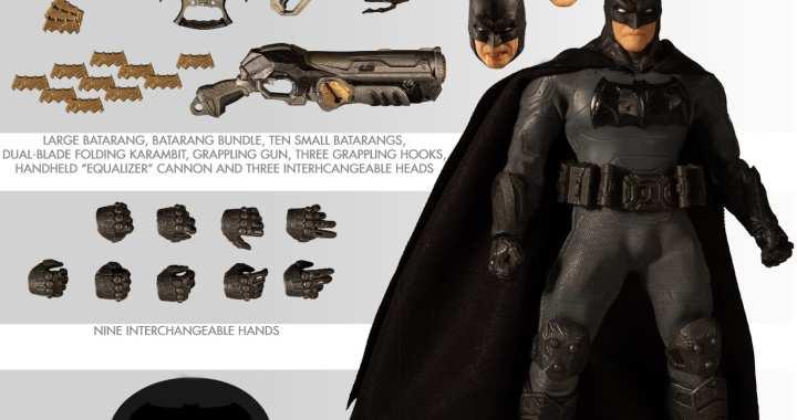Mezco Offers a Supreme Take on the Dark Knight