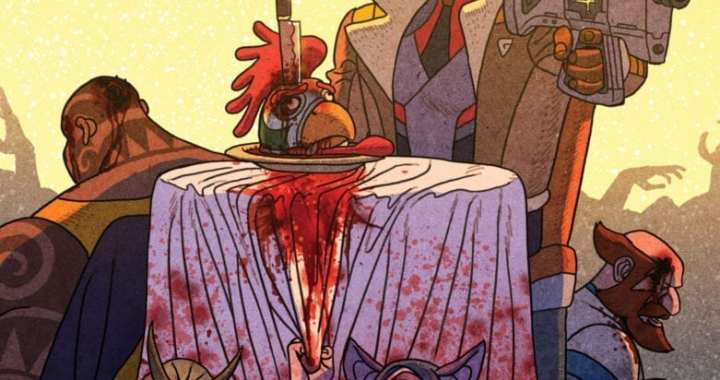 Creators Behind Chew Reunite for Outer Darkness/Chew Crossover Miniseries