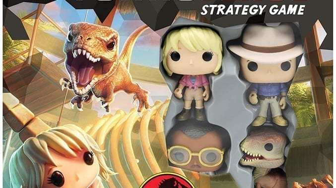 FUNKO TO LET LOOSE 'JURASSIC PARK' IN THE POP! FUNKOVERSE!