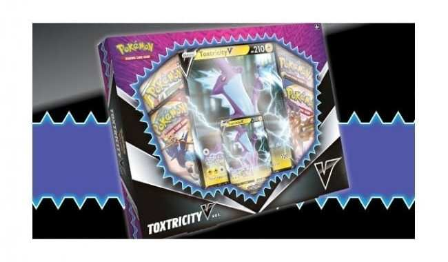 POKEMON TO RELEASE TOXTRICITY V