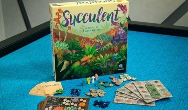 RENEGADE GAME STUDIOS ANNOUNCES 'SUCCULENT'