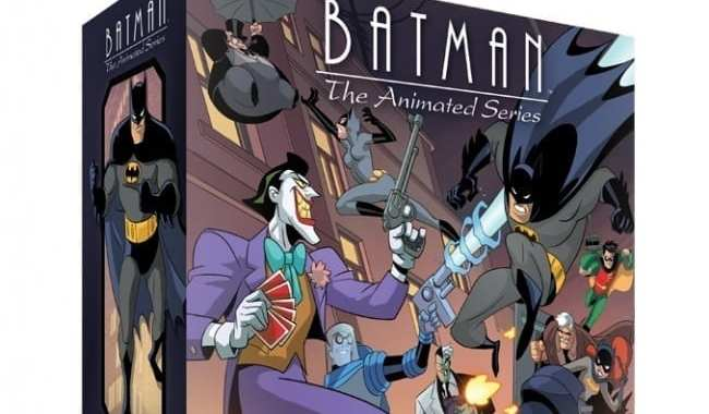 IDW GAMES ANNOUNCES 'BATMAN: THE ANIMATED SERIES ADVENTURES' 'SHADOW OF THE BAT' MINIATURES BOARD GAME