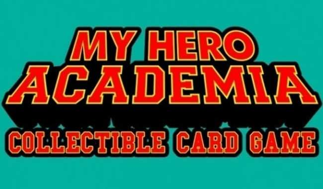 JASCO GAMES UNVEILS RELEASE DATE FOR 'MY HERO ACADEMIA: COLLECTIBLE CARD GAME'