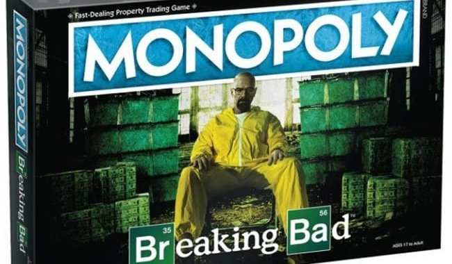 USAOPOLY (THE OP) WILL RELEASE 'MONOPOLY: BREAKING BAD' INTO TRADE
