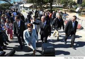 PM Gonzi and his wife going to vote