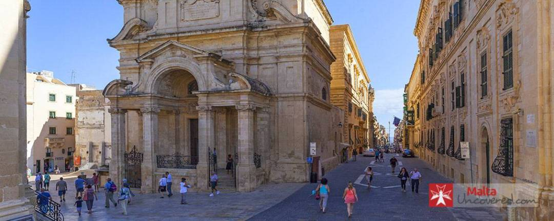 Valletta's rich history is visible everywhere you look.