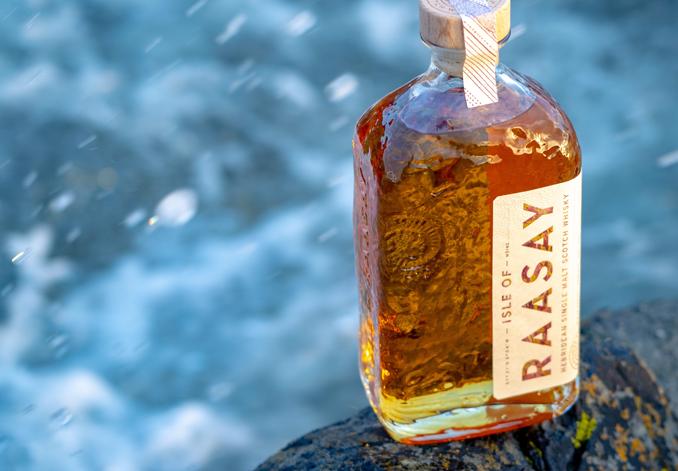 Isle of Raasay Single Cask Series Peated Chinkapin