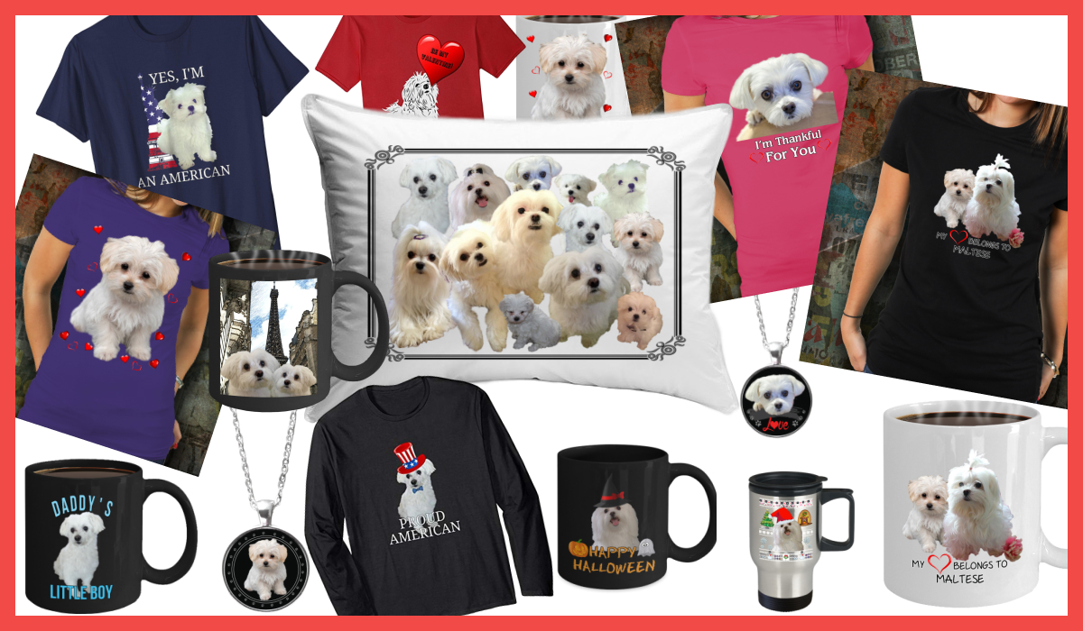 Maltese Dog Gifts For Maltese Lovers