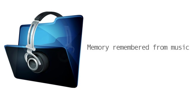 Memory remembered from music
