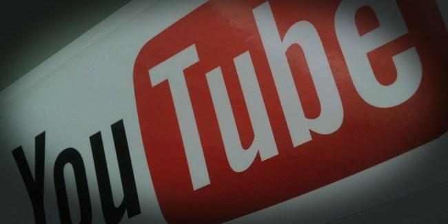 YouTubeに暗雲がかかるイメージ