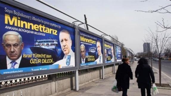 İsrail Türkiye özür