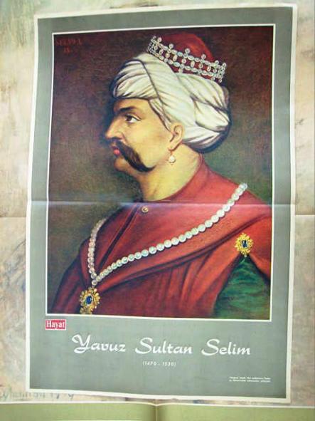 Yavuz Sultan Selim'e Ait Olduğu İddia Edilen Resim Paylaşımı