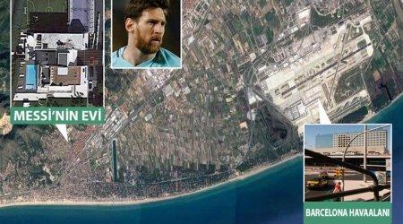 Messi'nin evi - Barcelona Havalimanı