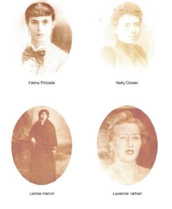 Abdulhak Hamit Tarhan'ın Karıları