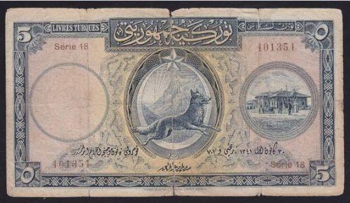 bozkurtlu 5 lira
