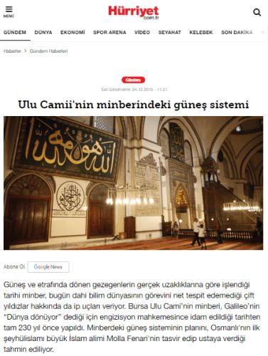 Bursa Ulucami Minberi