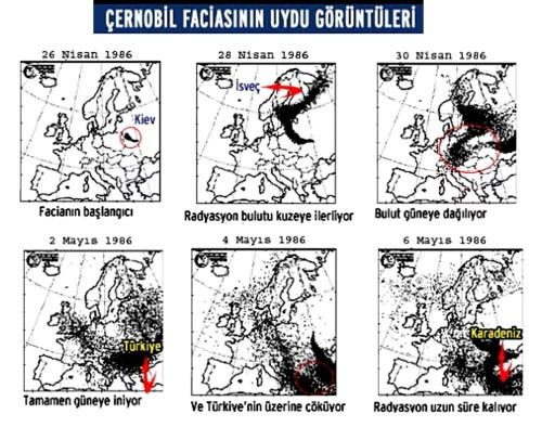 çernobil uydu görüntüleri