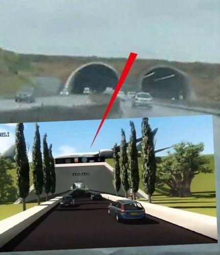 dağsız tünel proje