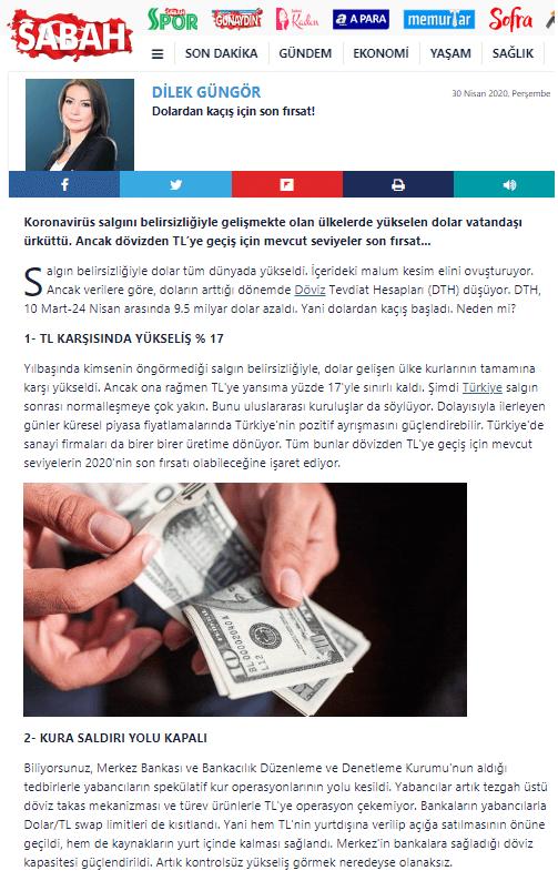 dilek güngör dolar