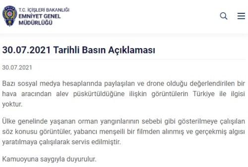 drone alev püskürtme