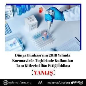 dünya bankası covid19 teşhisi 2018