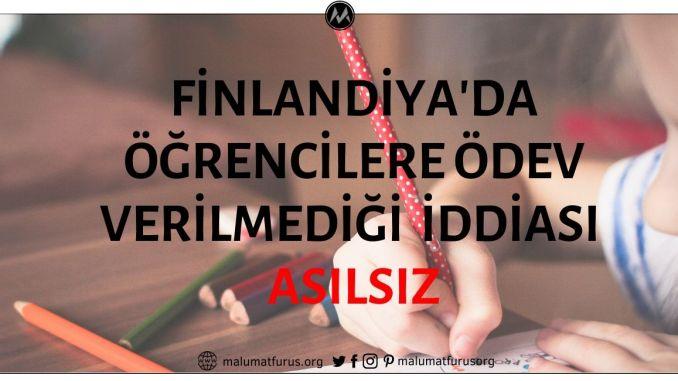 Finlandiya Eğitim Sisteminde Ödevin Olmadığı İddiası Asılsız